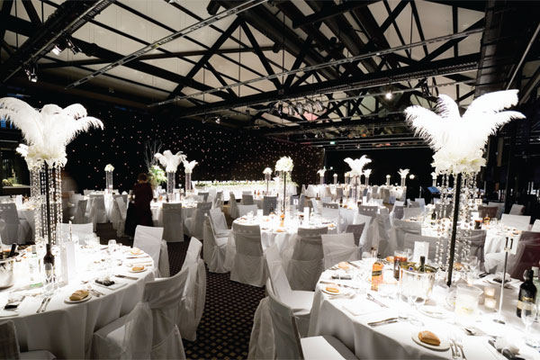 night of canapes bubbly entertainment and some fabulous wedding ideas