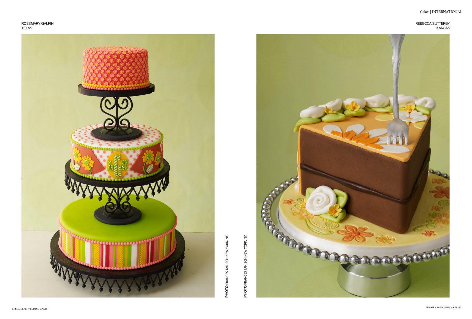 New Cakes magazine is on it\'s way - Modern Wedding