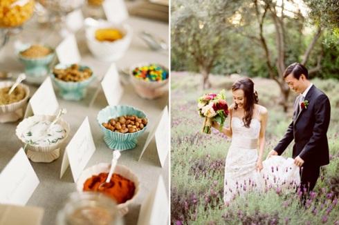 Bridal tasting plates