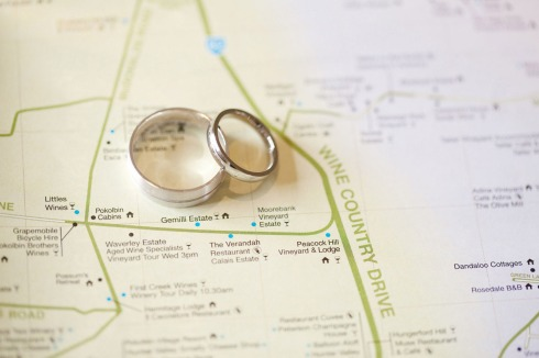 Hunter Valley wedding directions