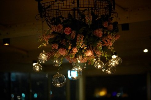 Floral Chandelier - weddings