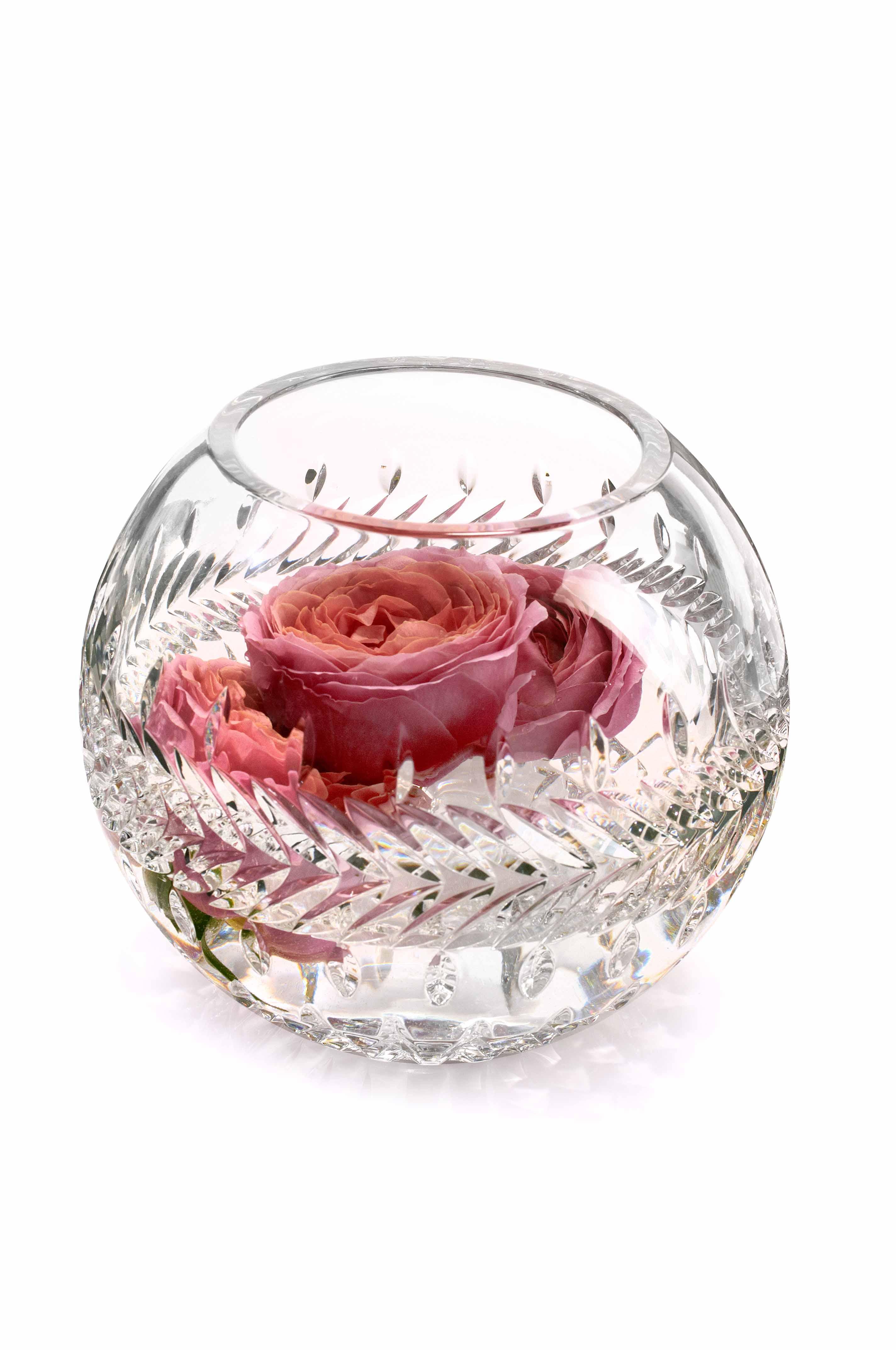 Glass Rose Bowl Vase Vases Sale