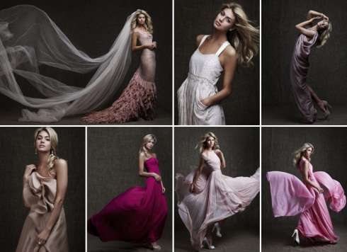 Pink David Jones Gowns for Breast Cancer research