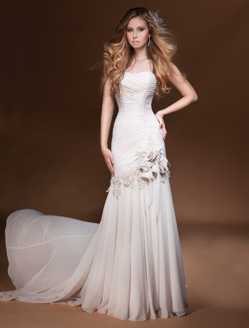 Bridal gown - cream gown