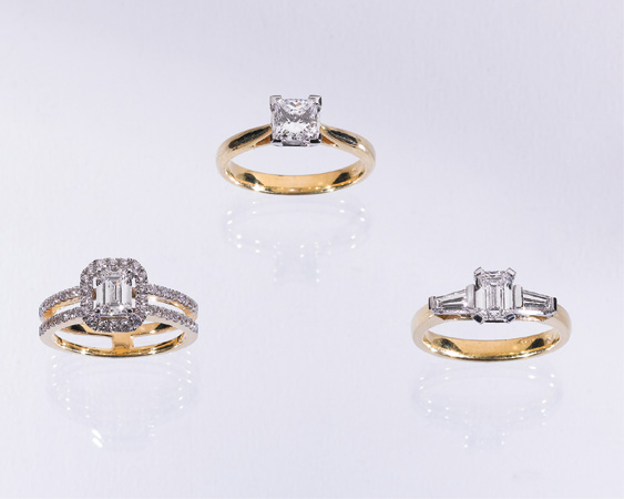 Before deciding on your ring think about your wedding band as these two