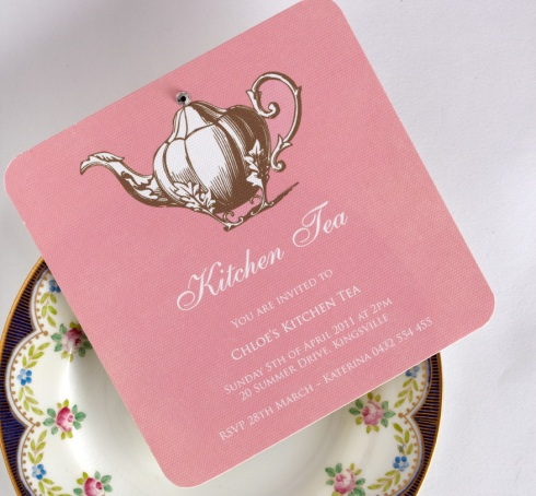 Kitchen Tea invite