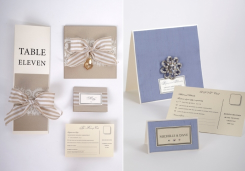 Wedding paper goods