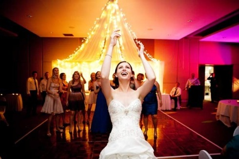 Bride dance floor