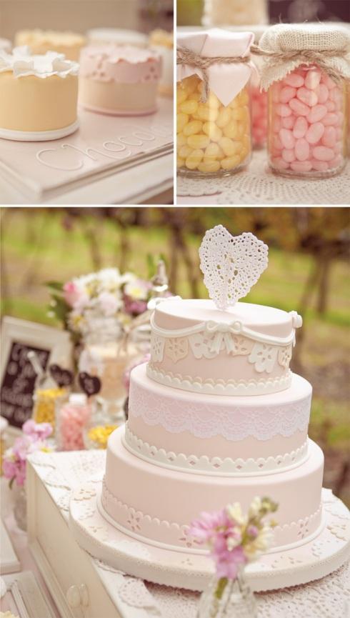 Dessert buffet details