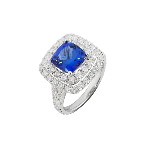Dress ring - square cut