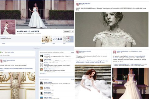 Wedding Fashion inspiration on facebook
