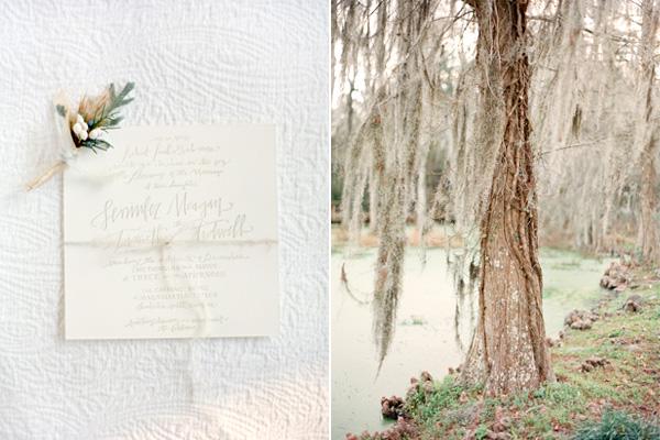 White Garden wedding details
