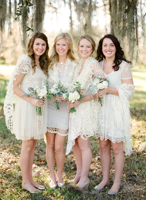 Bridesmaids - bohemian style
