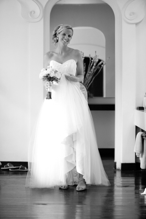 Bali wedding - bride ready
