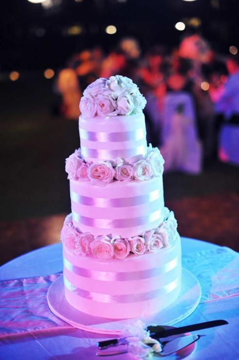 Wedding cake - Bali wedding