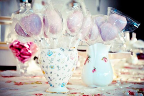Cake Pops - Pretty Little Vintage Bridal Shower