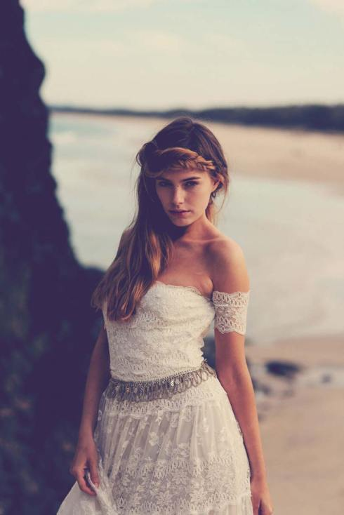 Josee by Grace Love Lace - Bohemian Wedding Dress