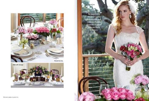 Rustic Romance - Modern Wedding Flowers magazine