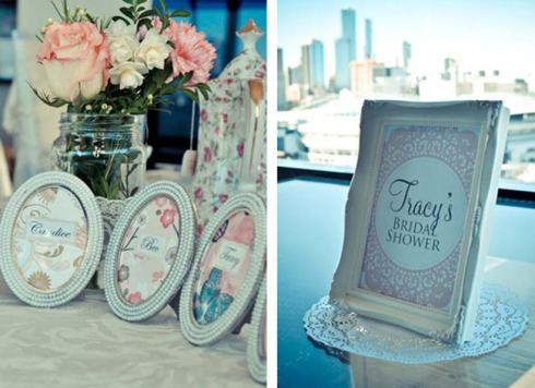 'Tracey's Bridal Shower' - Pretty Little Vintage Bridal Shower