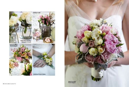Vintage Pastels - Modern Wedding Flowers magazine