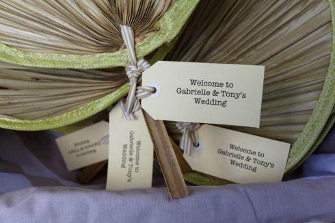 Wedding-Fans