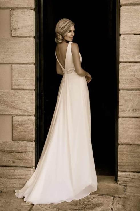 Backless dress - Halo Bridal Designs