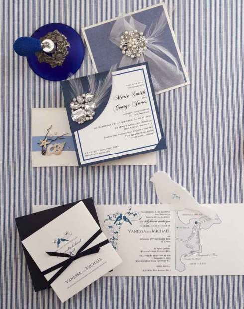 DIY Wedding Invitations - by Stationery Online and Wills Quills
