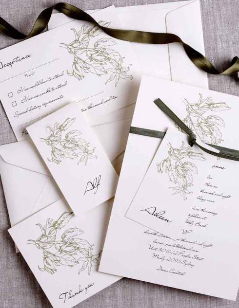 DIY Wedding Invitations - Pulp Creative Paper