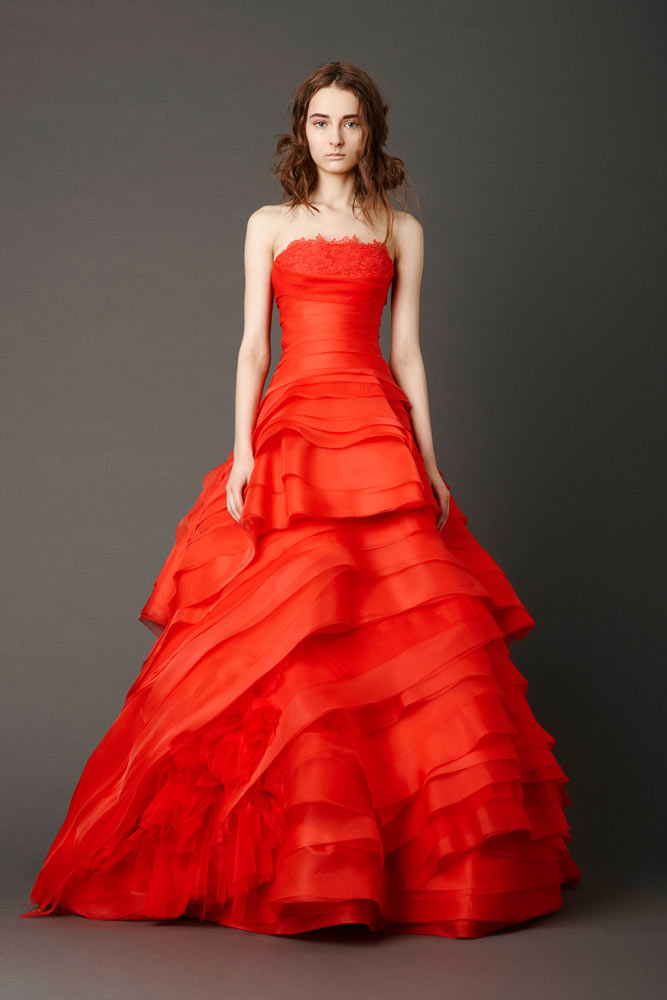 Vera Wang Spring 2013 Bridal Collection - Kimberly