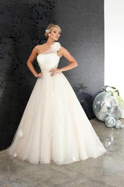 Wedding gown - Halo Bridal Designs